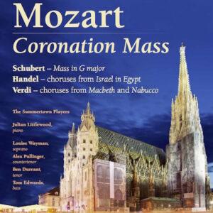 Schubert, Mozart, Handel and Verdi