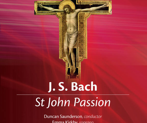 Bach's St. John Passion Poster