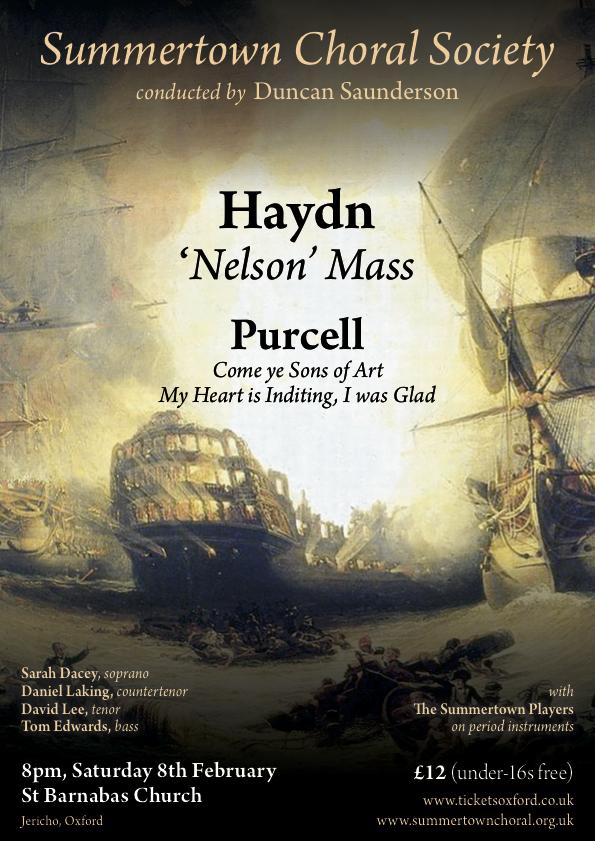 Haydn - 'Nelson' Mass Poster